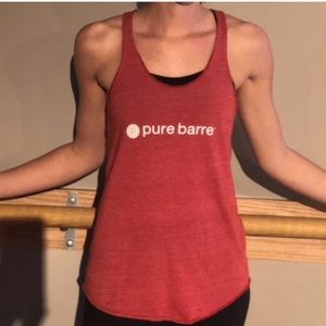 Pure Barre tank in Red, size Large